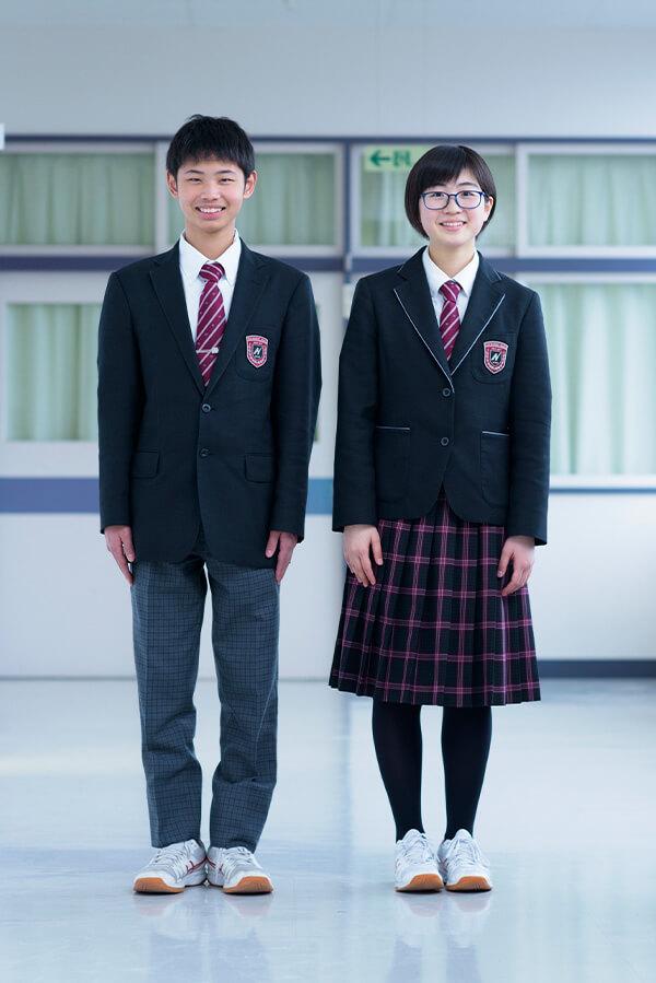 中学校制服(冬服)